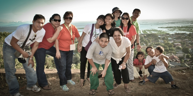 Along Binangonan road overlooking Laguna de Bay