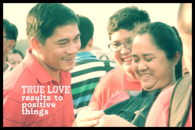 Learning to first love GOD, results to loving others in a way that doesn't bring hurt.