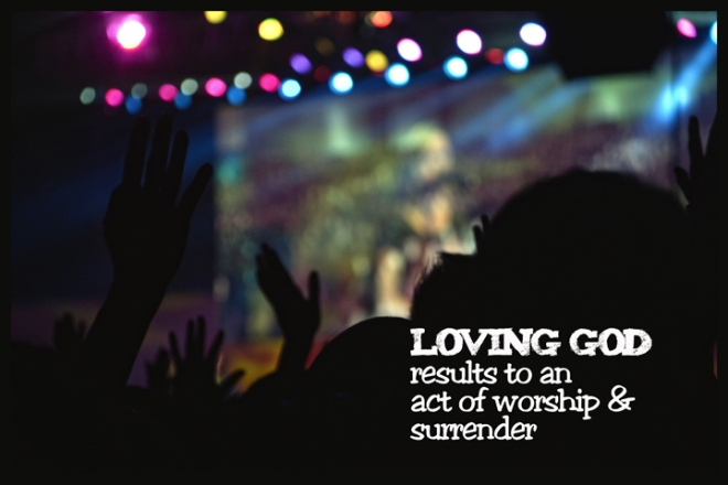 Learning to first love GOD, results to an act of worship, surrender and harmony to his plans and purpose for our lives.