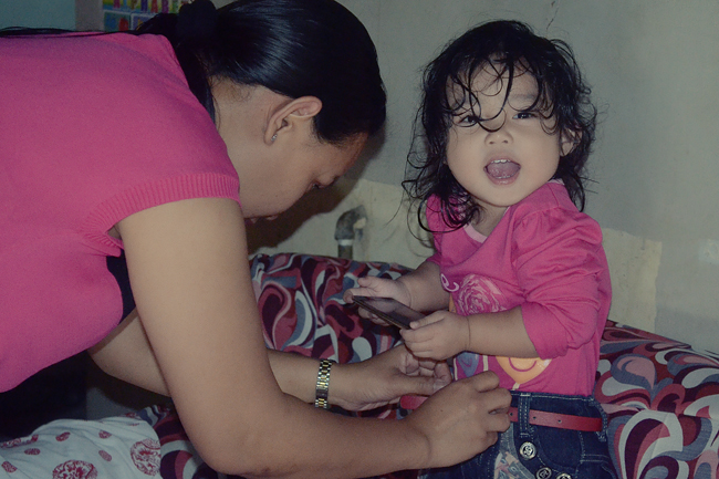 My daughter: Summer Gael